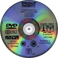 Fright Night DVD Spain 2 Disc