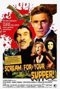 Scream for Your Supper Fright Night Poster