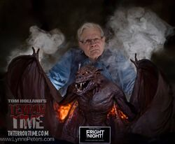 Tom Holland and Vampire Bat by Lynne Peters.jpg