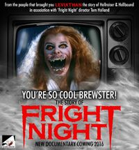 You're So Cool Brewster The Story of Fright Night - Amanda Bearse