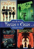 4 Movies Thrills and Chills Collection Vol 3 DVD