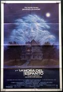 Fright Night 1985 Mexico Poster