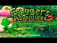 """Frogger's Adventures 2- The Lost Wand - Haunted Island """"Path Through Town"""" extended"""
