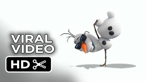 Frozen Viral Video - Olaf's Dance (2013) - Disney Animated Movie HD