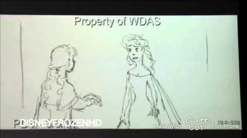 Disney Frozen - Deleted Song - Life's Too Short