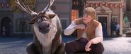 Kristoff confides in Sven