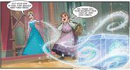 Elsa helping Tilda