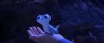 Frozen II - Bruni después de comer un copo de nieve