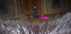 Elsa produces ice spikes.png