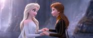 Anna and Elsa reunite