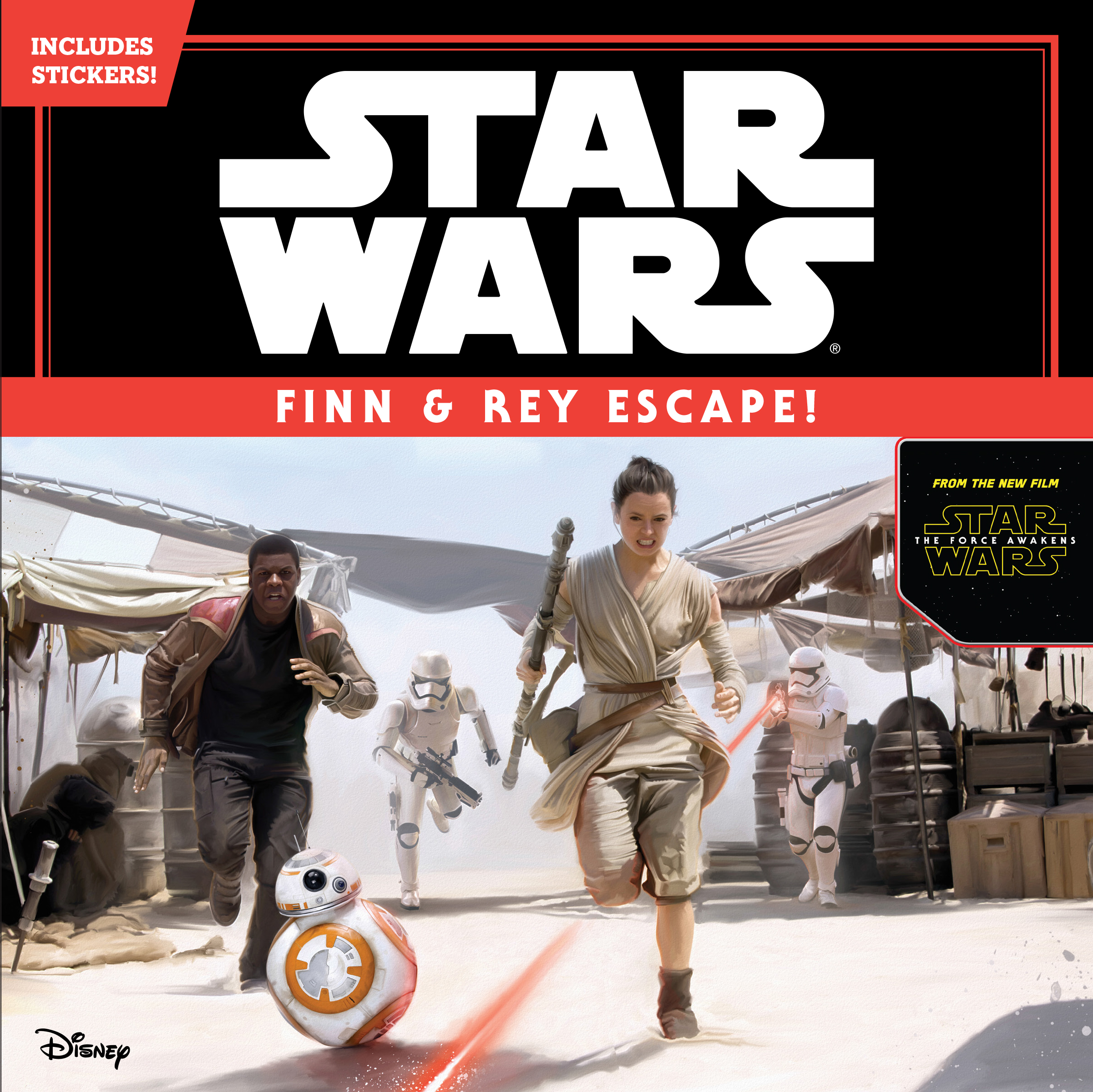 Finn & Rey Escape!