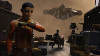 Mission pour piller un cargo Impérial