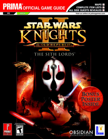 Knights of the Old Republic II: The Sith Lords: Prima Official Game Guide
