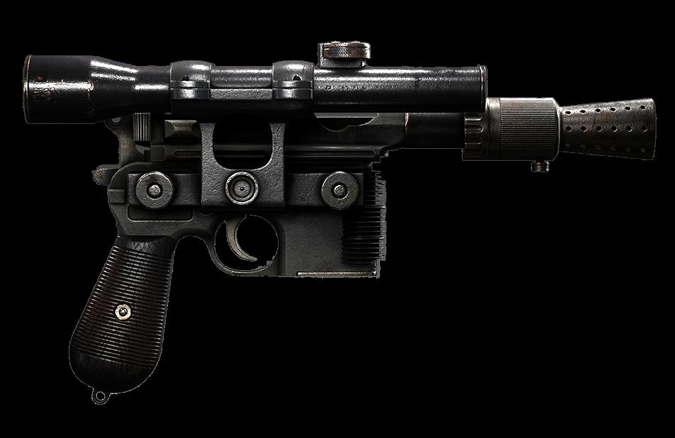 Pistolet blaster lourd DL-44