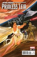 Star Wars Princess Leia Vol 1 1 Alex Ross Variant