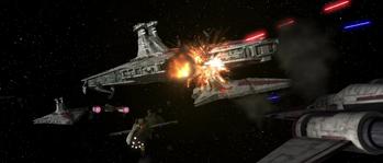 Attaque de la flotte d'Obi-Wan Kenobi