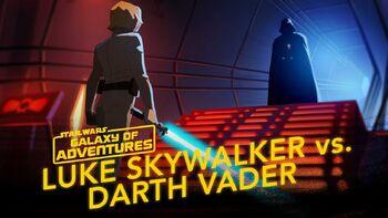Luke vs Dark Vador, rejoins-moi