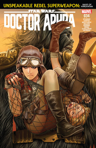 Docteur Aphra 34: L'effroyable super-arme rebelle 3