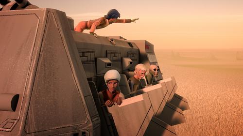 Attaque sur des Transports de Troupes Impériaux
