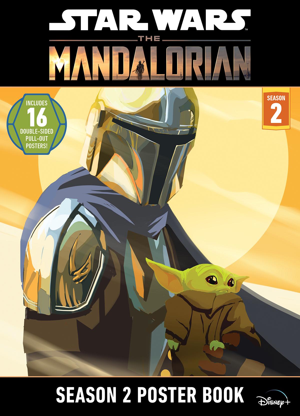 Star Wars: The Mandalorian Season 2 Poster Book