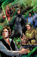 Shattered Empire IV Pichelli-Mounts textless variant