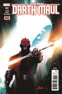 Darth Maul 2 2nd Printing