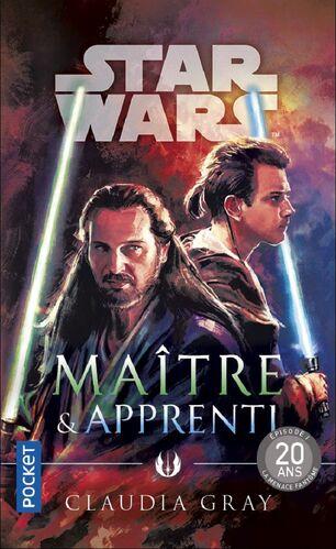 Couverture de Maître et Apprenti représentant Obi-Wan Kenobi et Qui-Gon Jinn