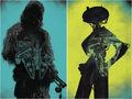 Last Shot Chewbacca and L3-37 cover art