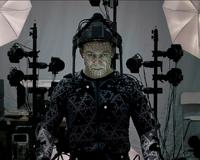 L'acteur Andy Serkis en pleine motion capture pour jouer Snoke