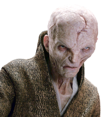 Portrait de Snoke