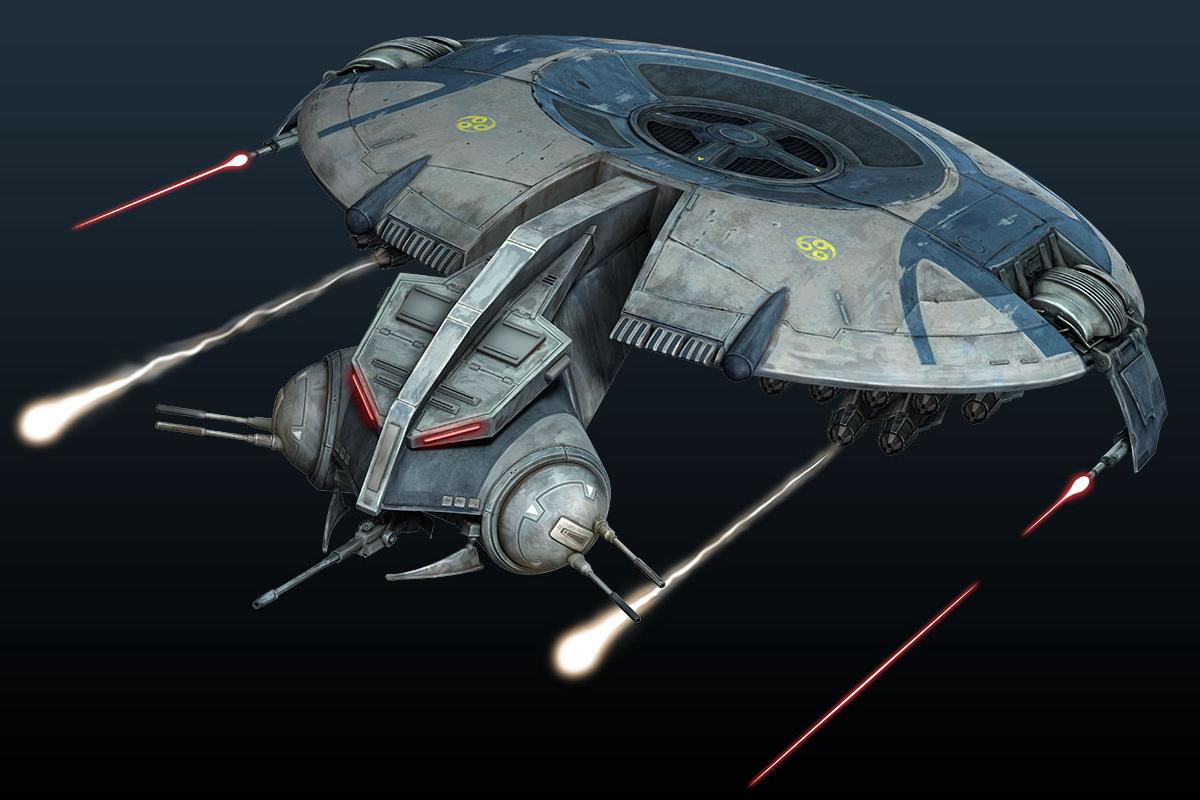 Canonnière droïde HMP