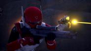 Imperial Super Commandos flying