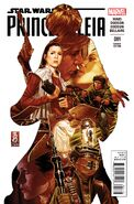 Princess Leia 1 Mark Brooks Variant cover