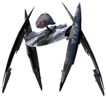 Droïde de combat auto-propulsé à géométrie variable Mark I