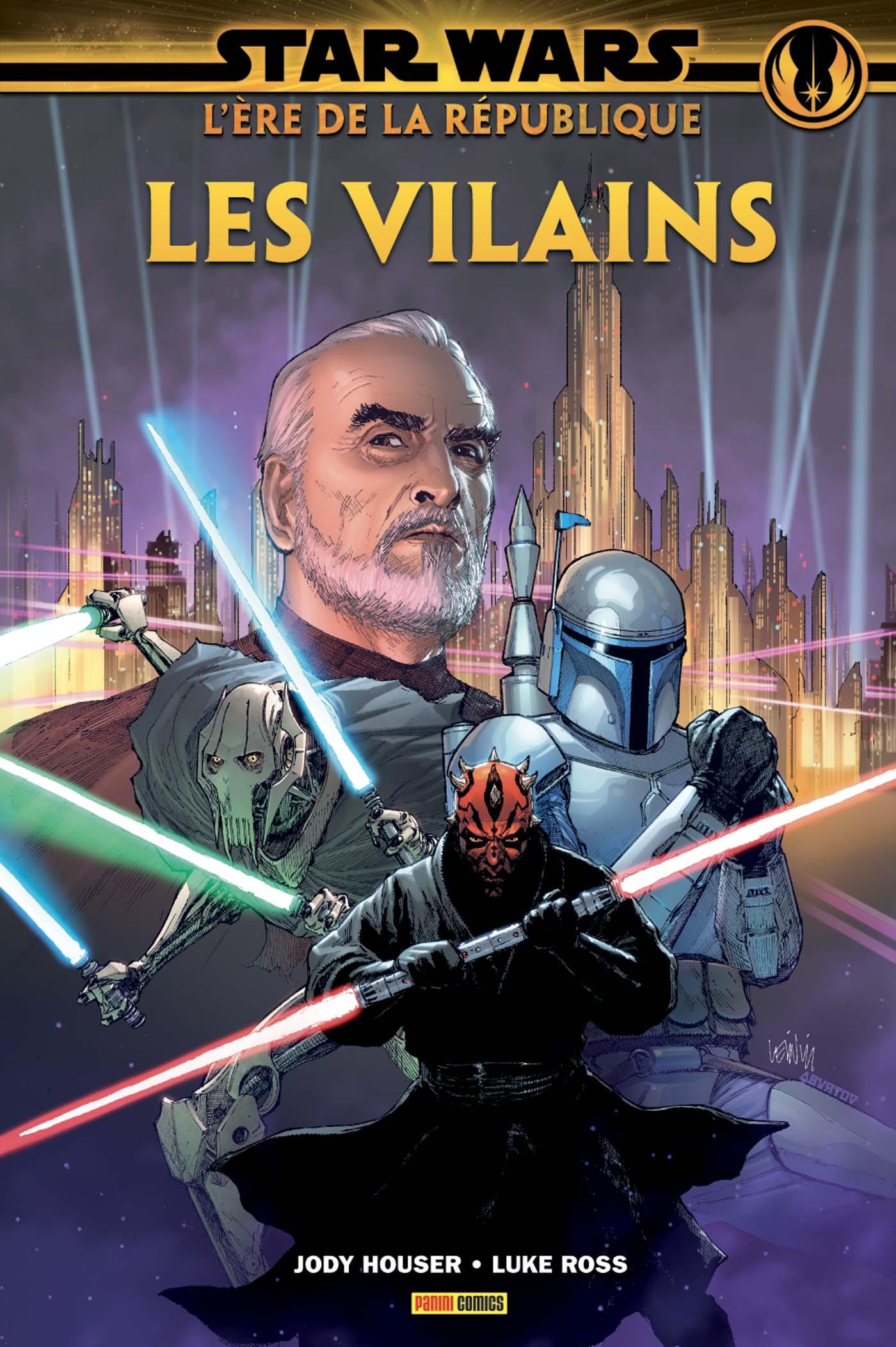 Star Wars : L'Ère de la République — Les Vilains