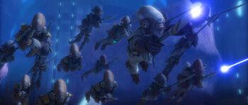 Guerre aquatique
