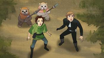 Le piège à Ewok