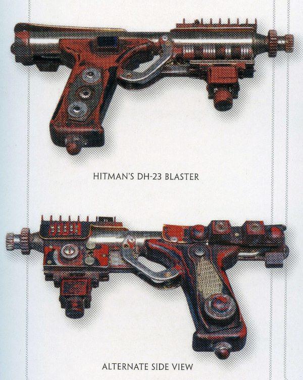 Pistolet blaster DH-23