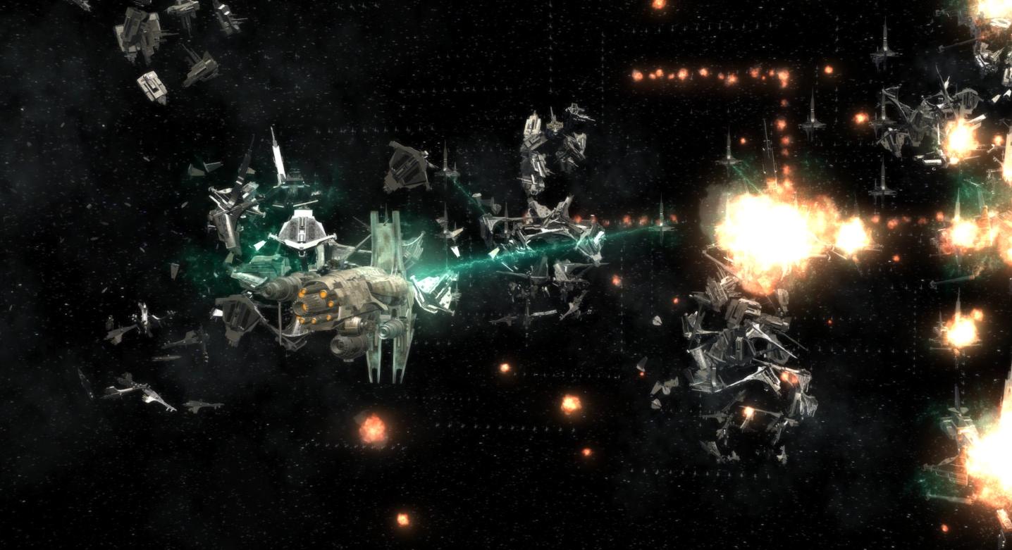 Destruction de la Flotte Éternelle