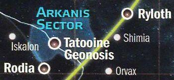 Secteur Arkanis