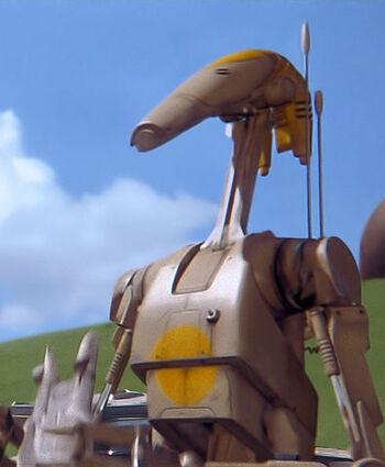 Droïde de combat de série OOM
