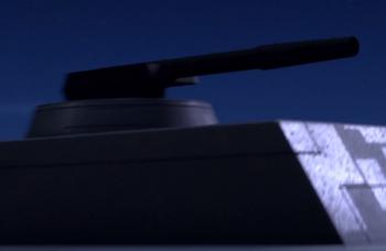 Tourelle laser