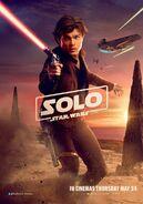 Han Solo poster uk