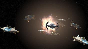 Attaque sur l'Escadron Phoenix (4 av.BY)