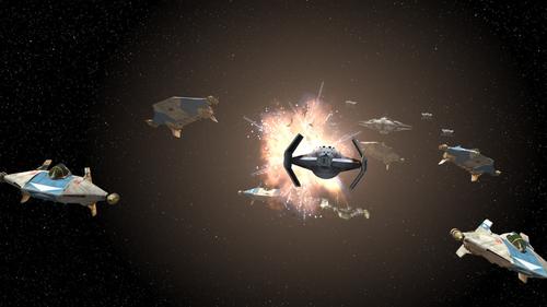 Attaque sur l'Escadron Phoenix (4 ABY)