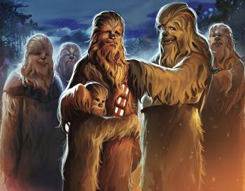 Famille de Chewbacca