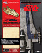 IncrediBuilds A-Wing cover