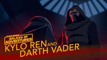 Kylo Ren and Darth Vader - A Legacy of Power