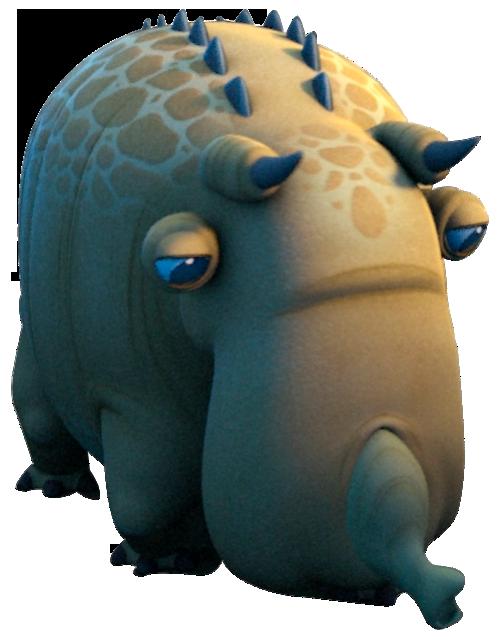 Cochon globe