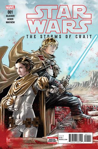 Star Wars: Les Derniers Jedi – Les Tempêtes de Crait 1